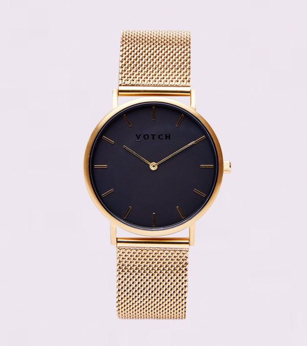 Gold & Black | Mesh Classic - Vogue x Virtue - Votch