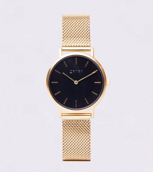 Gold & Black | Mesh Petite - Vogue x Virtue - Votch