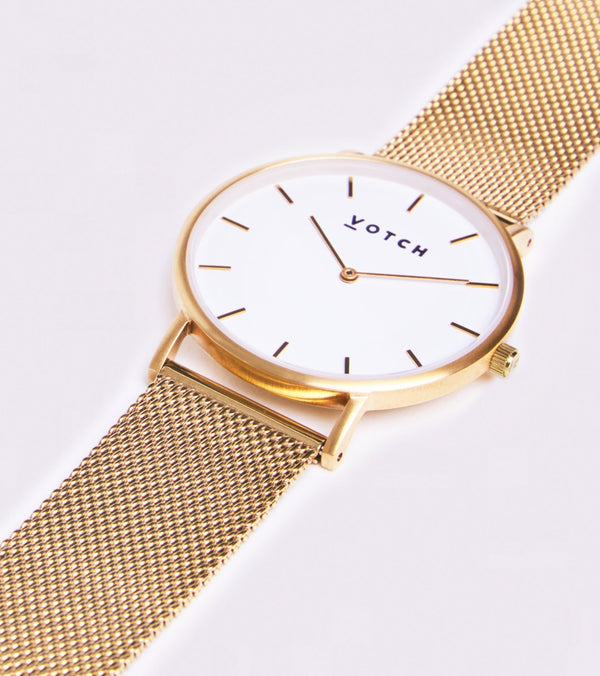 Gold & White | Mesh Classic - Vogue x Virtue - Votch