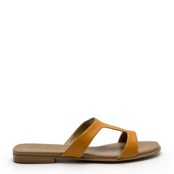 Letizia Nappa - Yellow Vegan Sandals - Vogue x Virtue - NOAH Italian Shoes