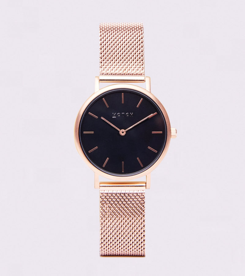 Rose Gold & Black | Mesh Petite - Vogue x Virtue - Votch