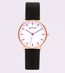 Rose Gold & Piñatex - New Collection Vegan Leather - Vogue x Virtue - Votch
