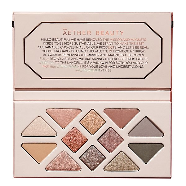 Rose Quartz - Vegan Eyeshadow Palette - Vogue x Virtue - Aether Beauty