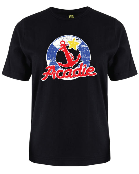 Acadian T-Shirt Men Crew Neck