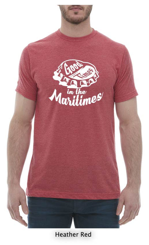 Good Times In The Maritimes T-Shirt Mens Crew Neck
