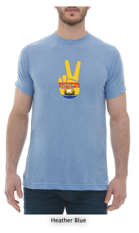 Peace T-Shirt Mens Crew Neck