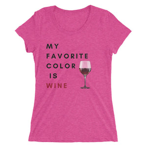My Favourite Color is Wine
