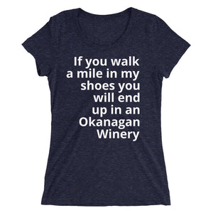 If you walk a mile