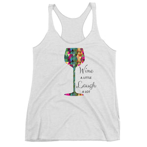 Women's Racerback Tank - XXXX A LITTLE LAUGH A LOT