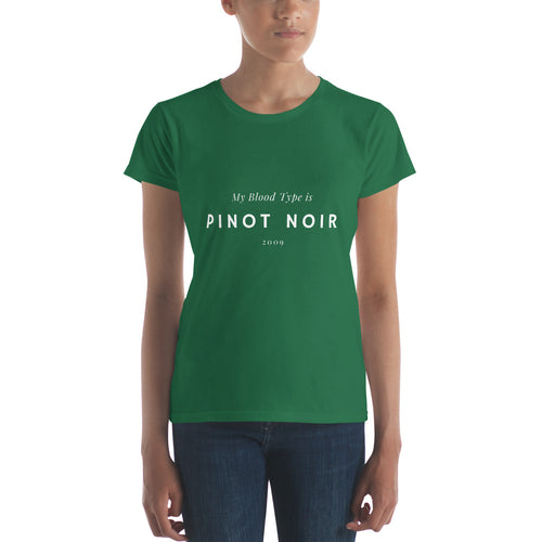 My Blood Type - Women's short sleeve t-shirt