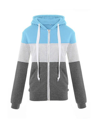 Color Block Sport Hoodies