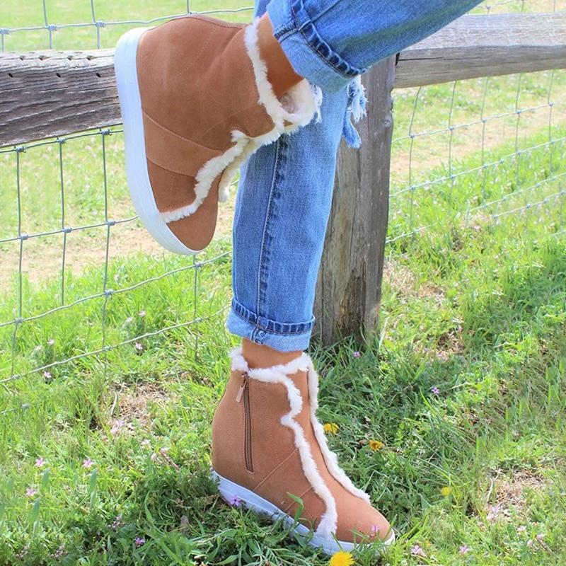 Daily Comfy Wedge Ankle Boots