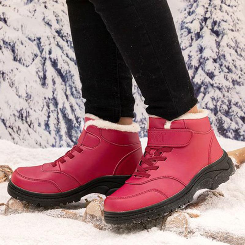 Winter Waterproof Cotton Liner Sneakers