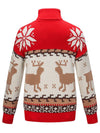 Casual Long Sleeve Turtleneck Christmas Sweater