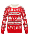 Christmas Casual Long Sleeve Knitted Pullover