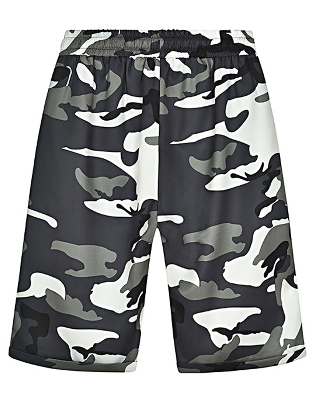 Camouflage Medium Waist Shift Pants