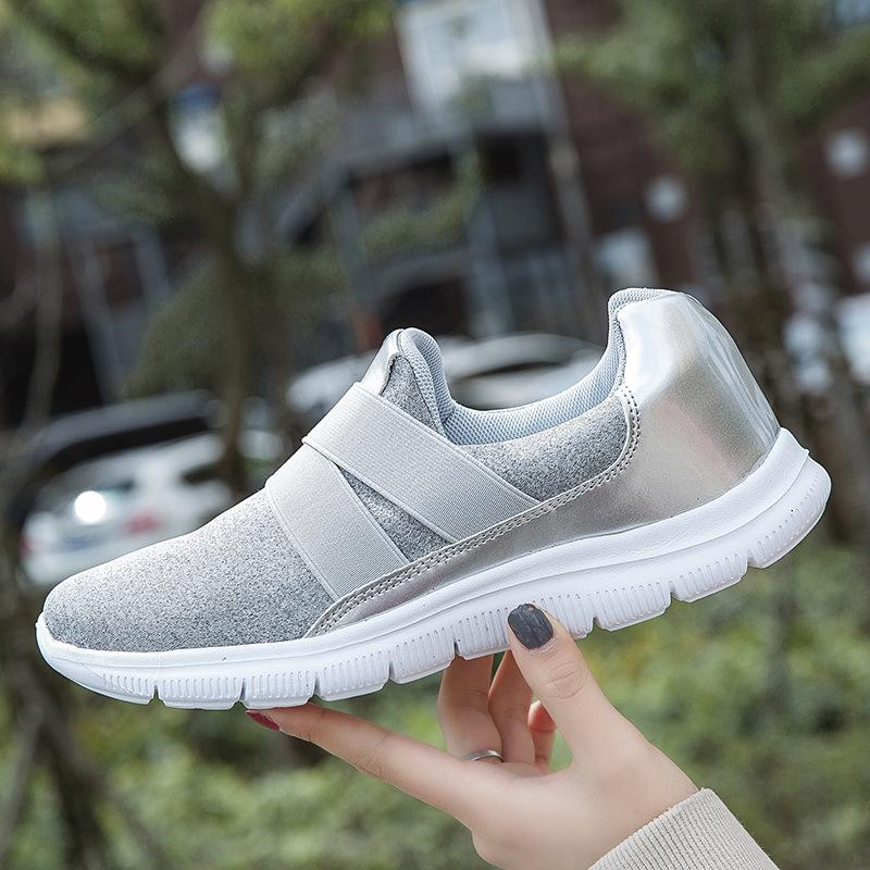 Well-Ventilated Outdoor Slip-On Sneakers