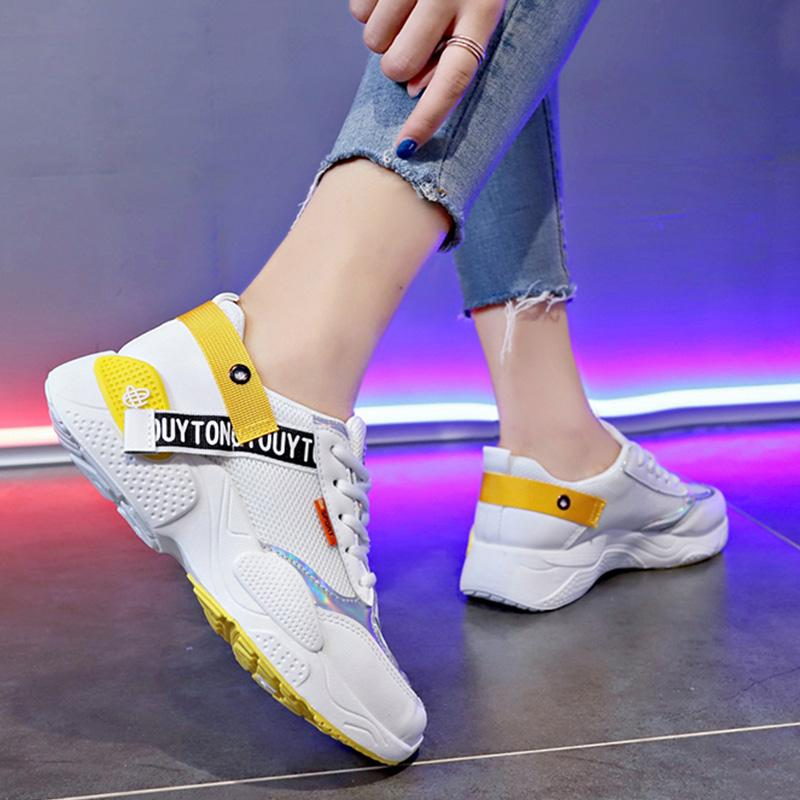 Women Well-Ventilated Mesh Casual Sport Gym Sneaker
