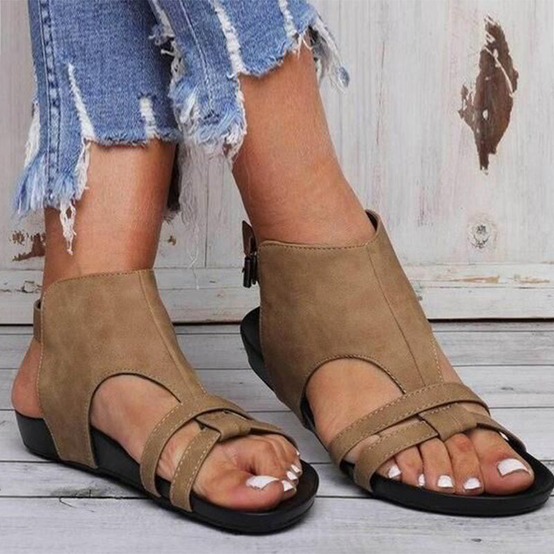 Women Comfortable Casual Hollow-out Buckle Sandals