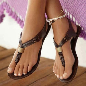 Women Flat Sandals Fashion Flip Flops Shoes
