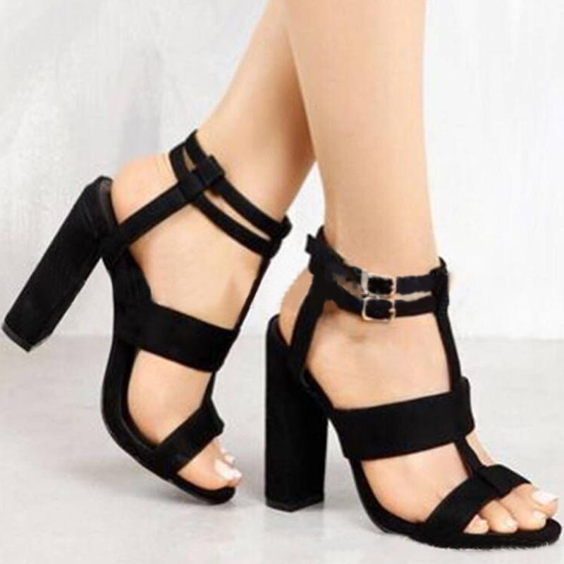 Women's Hallow Out Open Toe Sandals