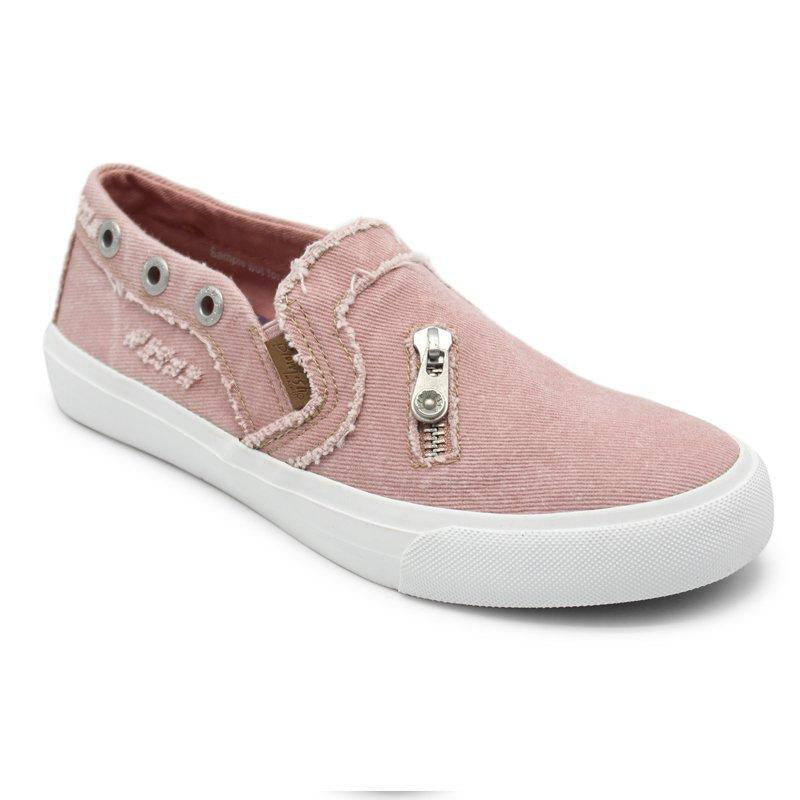 Canvas Think Heel Students Slip-on Women Casual Lofters
