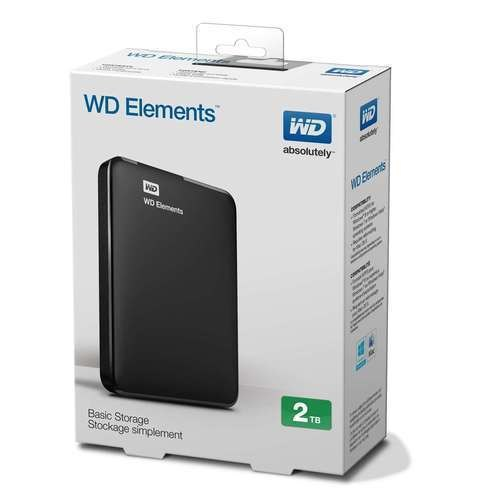 External HDD 2 Tb WD Element