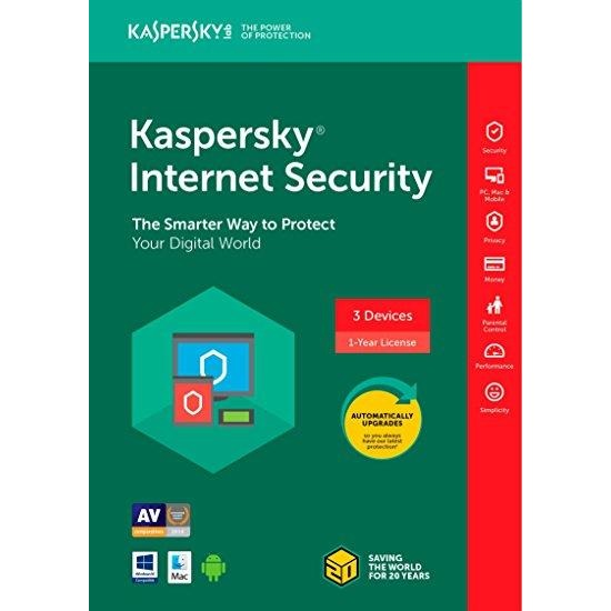 Antivirus Kaspersky 3 User