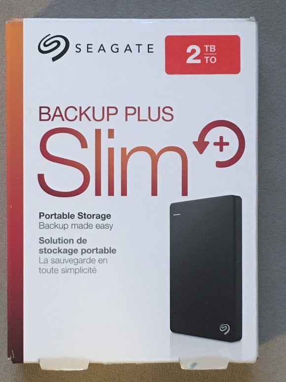 External Hdd 2 TB Seagate Backup Plus
