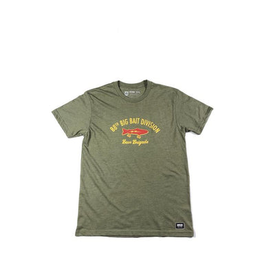 88TH BIG BAIT DIVISION TEE - LIGHT OLIVE