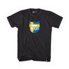 Bass Brigade Sweden Shield Logo Tee - Black