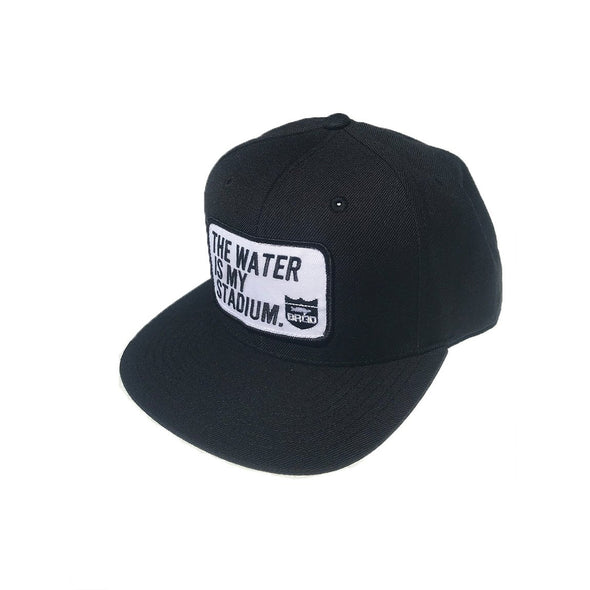 TWIMS PATCH SNAPBACK HAT - BLACK