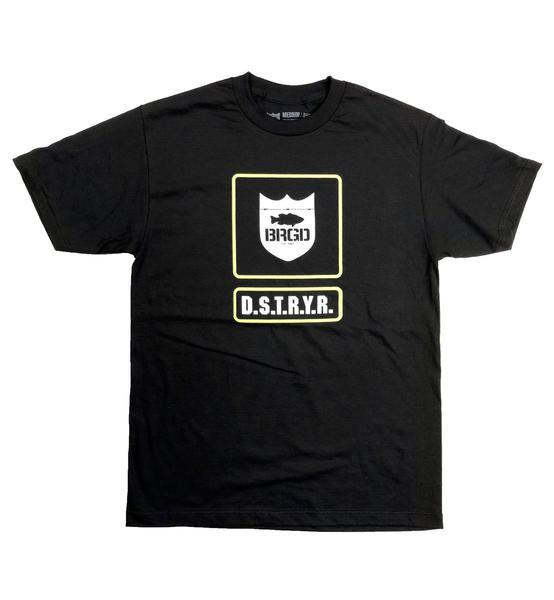 Bass Brigade Boot Camp Tee - Black