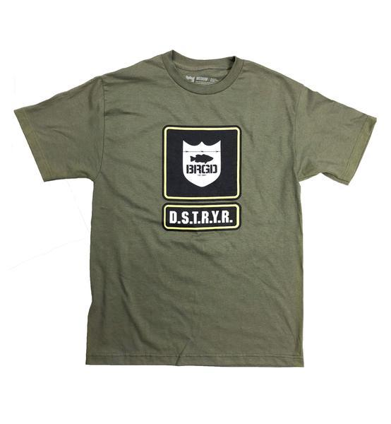 Bass Brigade Boot Camp Tee - Military Green