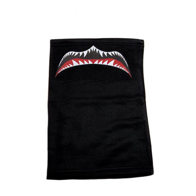FIGHTER GRILL NECK GAITER - BLACK