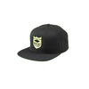 Shield Logo Snapback Hat - Black/Gold