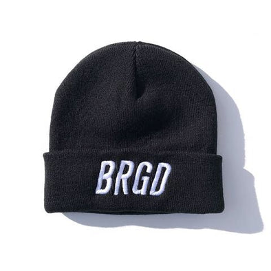 BRGD FRAME WATCHER CAP - BLACK