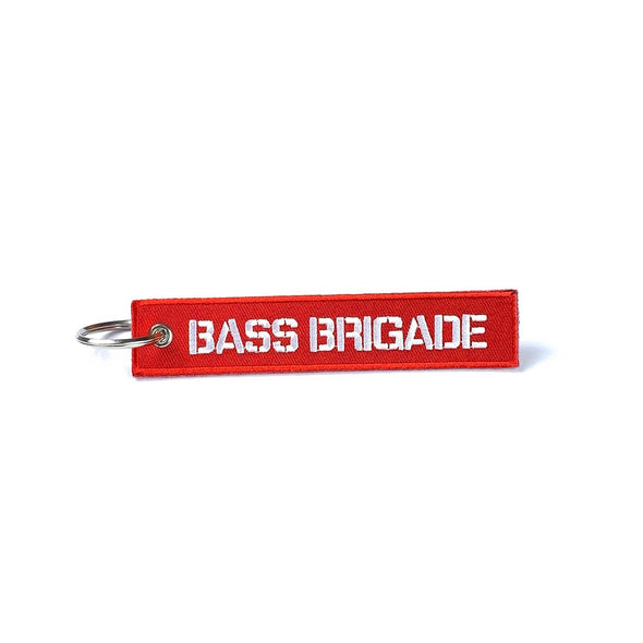BASS BRIGADE FIGHT TAG - RED