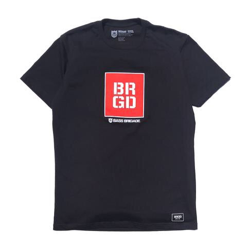 Square Box Tee - Black