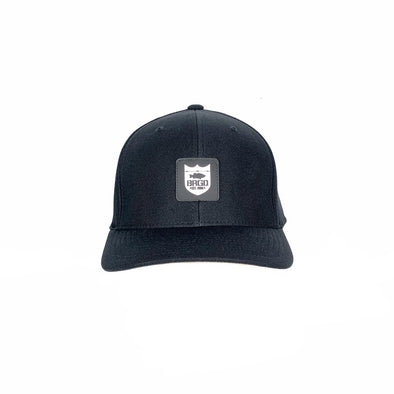 SHIELD PATCH PERFORMANCE HAT - BLACK