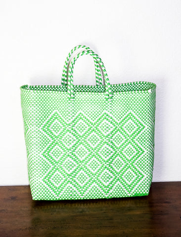 Lucca Green Diamond Handbag