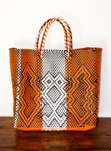 Lucca Orange Print Handbag