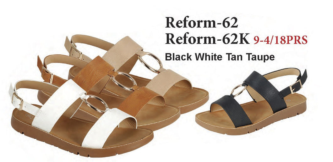 REFORM-62 SLIM BACK SANDALS
