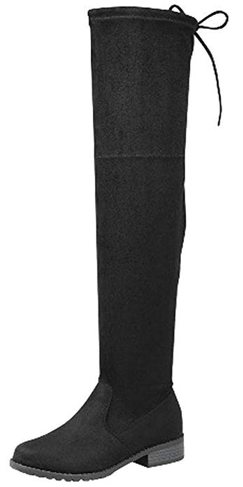 Over The Knee Thigh High Flat Boot