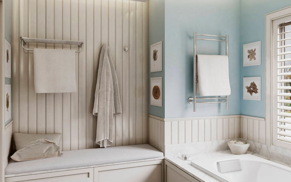 The Difference Between Heated Towel Racks and Towel Warmers