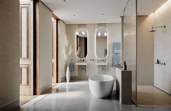 The biggest luxury selling point home buyers want to see in a bathroom
