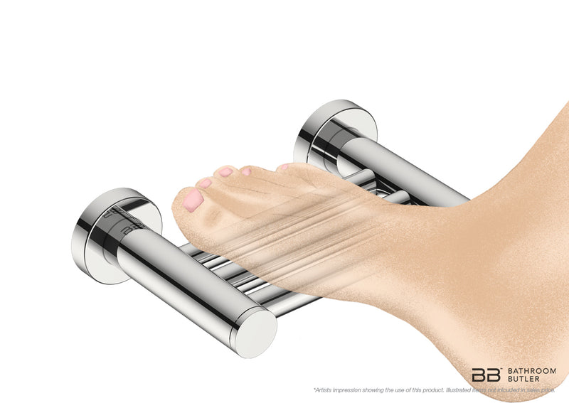 Shower Foot Rest 4629 for resting your foot to clean or shave your leg - Bathroom Butler