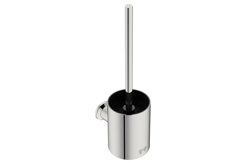 Toilet Brush + Holder 5838 - Polished Stainless Steel - Bathroom Butler bathroom accessories