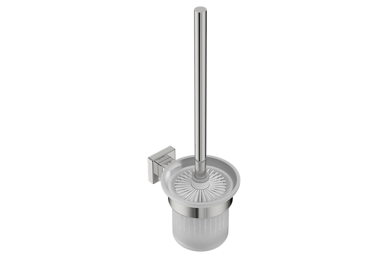 Toilet Brush + Holder 8538 - Polished Stainless Steel - Bathroom Butler bathroom accessories