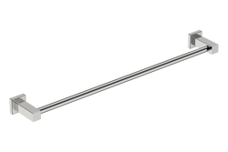 Single Towel Rail 25inch - Polished Stainless Steel - Bathroom Butler bathroom accessories